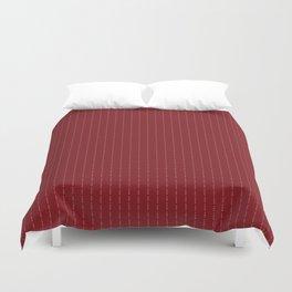 Сonor McGregor - Fuck You - Red Pin Stripe Design Duvet Cover