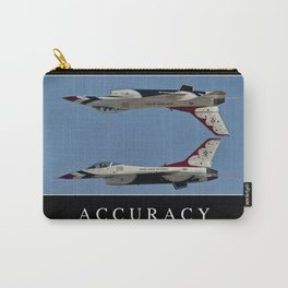 Accuracy: Inspirational Quote and Motivational Poster Carry-All Pouch