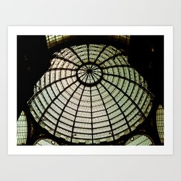 Postcards from Italy: Galería Umberto I Art Print