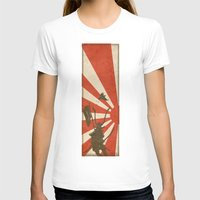 samurai T-shirts featuring Samurai by Riku Forsman