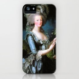 Marie Antoinette v2 iPhone Case