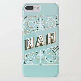 Nah – Mint & Rose Gold Palette iPhone Case
