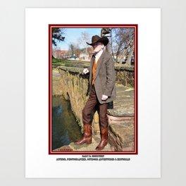 Gary D. Courtney - Author, Photographer, Outdoor Adventurer & Historian Art Print