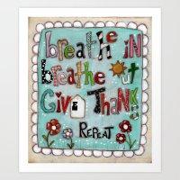 Repeat - by Diane Duda Art Print