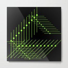 more lines Metal Print