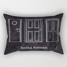 Being Human - Doors Rectangular Pillow