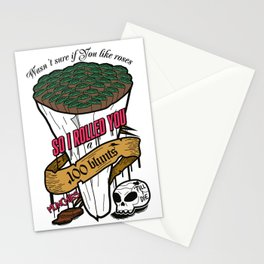 100 blunts Stationery Cards