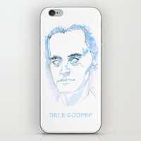 dale cooper iPhone & iPod Skins featuring Dale Cooper by kjell