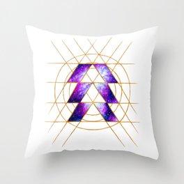 Nebula Hunter Sigil Throw Pillow