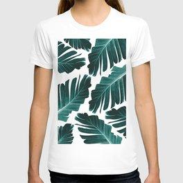 Tropical Banana Leaves Dream #1 #foliage #decor #art #society6 T-shirt