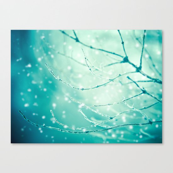Sparkle and Glow Canvas Print