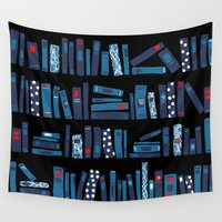 reading Wall Tapestries featuring Keep Reading by Beesants