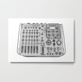 Jx3 Music Series - SEVEN Metal Print