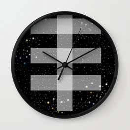 Double drop Wall Clock