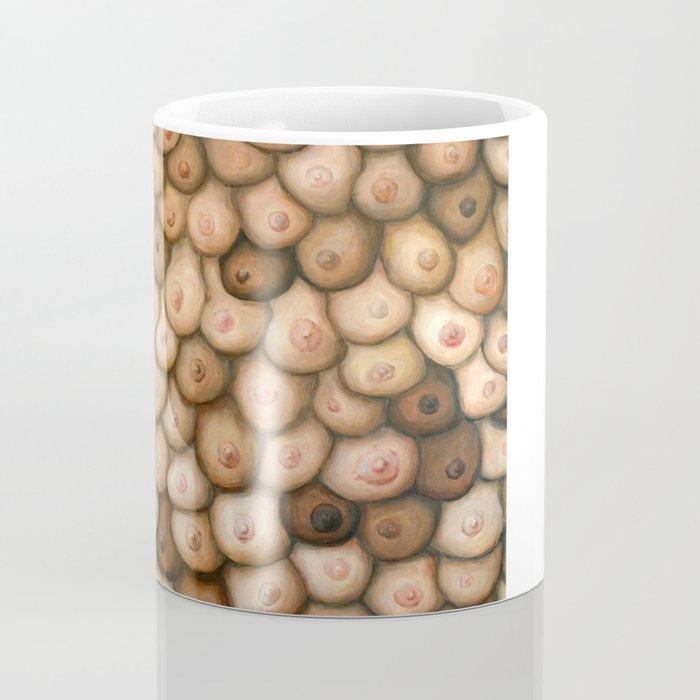 Decisions, Decisions / Boob Painting Coffee Mug