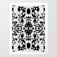philosophy Art Prints featuring philosophy by BUBUBABA