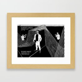 The Hart of Kennedy Town (Close up) Framed Art Print