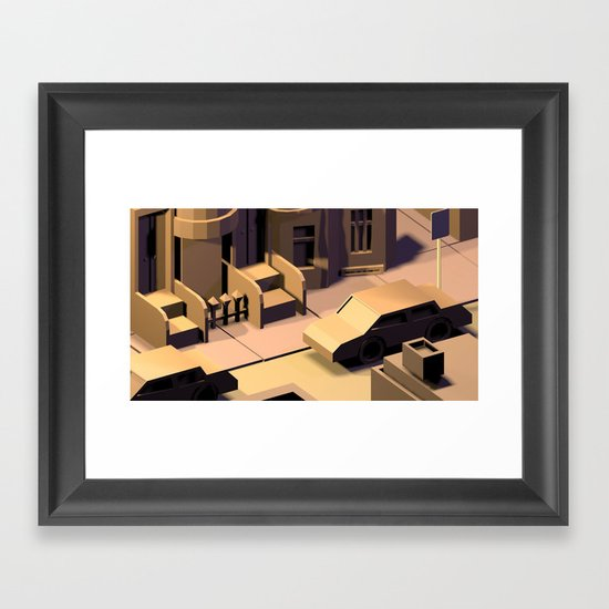 Baltimore Framed Art Print