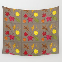 Autumn. Leaves. Wall Tapestry