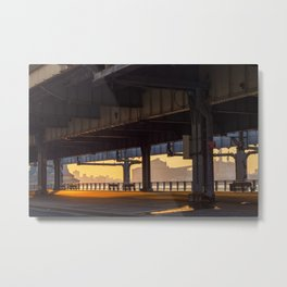 Under FDR Metal Print