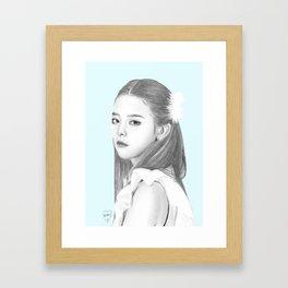 Seulgi Red Velvet Framed Art Print