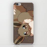 eevee iPhone & iPod Skins featuring Eevee by Mirikun