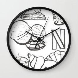 Relax Starter Pack Wall Clock