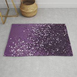 PURPLE Glitter Dream #1 #shiny #decor #art #society6 Rug
