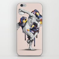 planet of the apes iPhone & iPod Skins featuring Apes Statue by Birgit Palma