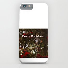 Merry Christmas 6 iPhone Case