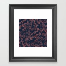 Flowers at Dawn Framed Art Print