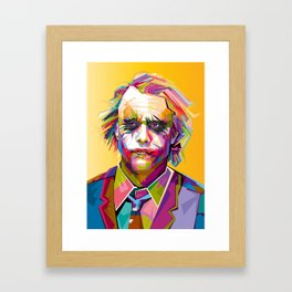 The Joke's on You Framed Art Print
