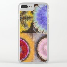 Ergastic Entity Flower  ID:16165-005314-25310 Clear iPhone Case