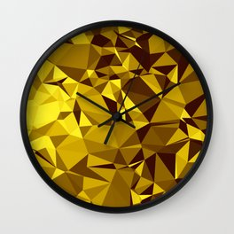 Low poly 2 Wall Clock