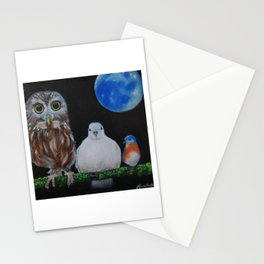 Wisdom Peace and Happiness Stationery Cards
