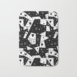 Black and White Popart by Nico Bielow Bath Mat
