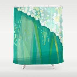 POSEIDON'S WALL Shower Curtain