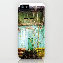 Nature finds the way inside... and outside... iPhone Case