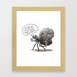 Spider-Mom Framed Art Print