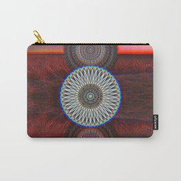 Three Mandalas Carry-All Pouch
