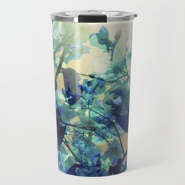Sunny Blue Travel Mug