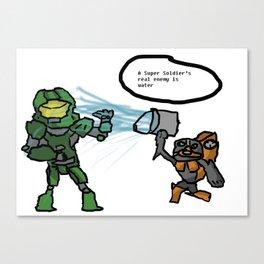 Halo: The True Enemy Canvas Print