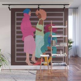 Girlfriends Wall Mural