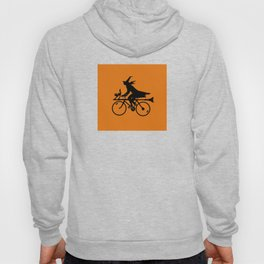 Witch on a Bicycle Hoody