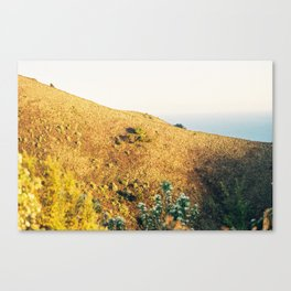 Yelloe Hills Canvas Print
