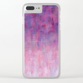 Warm Rain Clear iPhone Case