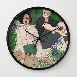 hothouse Wall Clock