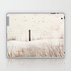 Roadside fence Laptop & iPad Skin