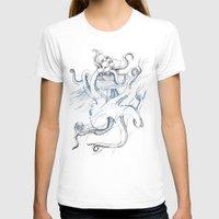 kraken T-shirts featuring Kraken by Kyle Naylor