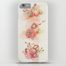 Roses & Orchids iPhone 6 Plus Slim Case
